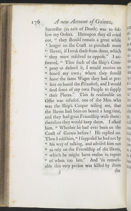A New Account Of Some Parts Of Guinea & The Slave Trade -Page 176